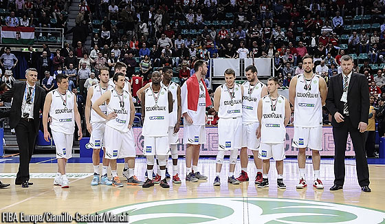 Szolnoki Olaj finish fourth at the 2014 EuroChallenge Final Four